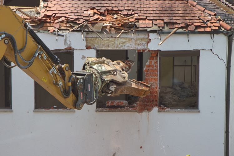 Preparing for your house demolition